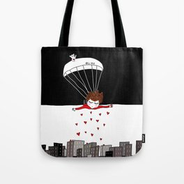 Flying Monday Tote Bag