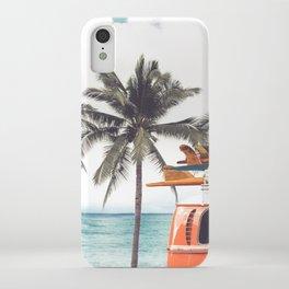 Red surf van iPhone Case