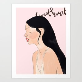 Sweetheart Art Print