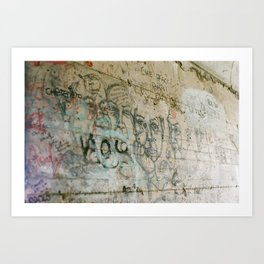 walk dell amour Art Print