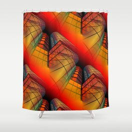 3D - abstraction -63- Shower Curtain
