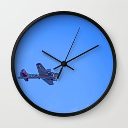 """""""B-17 - #38"""" with poem: God's Busy Wall Clock"""