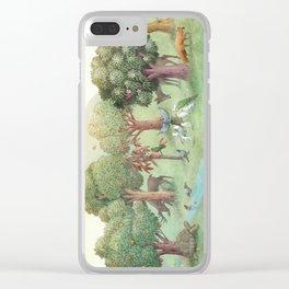 Sweet Tree Island Clear iPhone Case