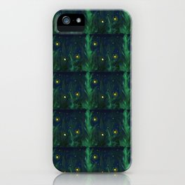 A Night At Home - Pattern iPhone Case