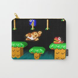 Inside Donkey Kong Junior Carry-All Pouch