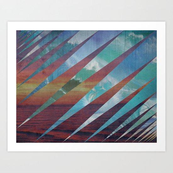 Summah Art Print