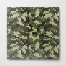 Military Pattern Metal Print