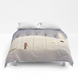 Winter morning Comforters