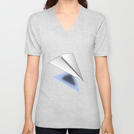 Paper Airplane 12 Unisex V-Neck