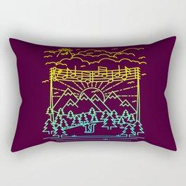 Mountain Notes Rectangular Pillow
