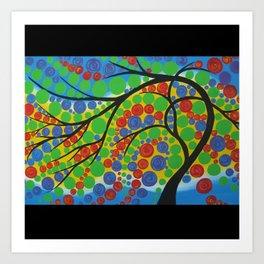 tree of joy Art Print