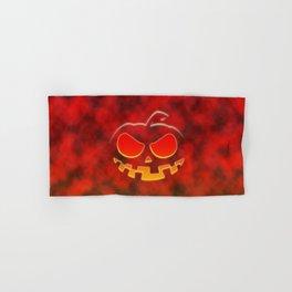 Screaming Pumpkin Hand & Bath Towel