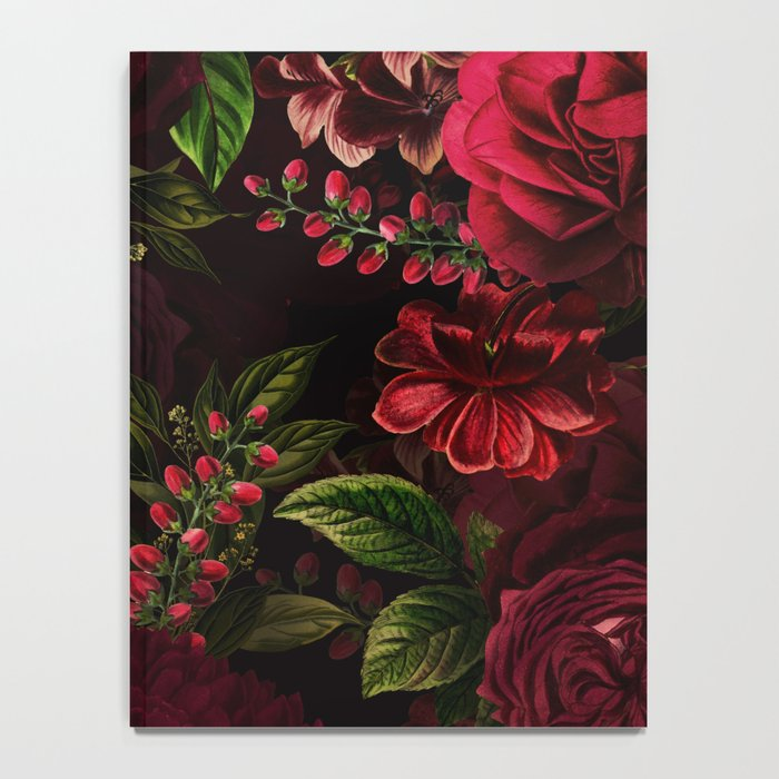Mystical Night Roses Notebook