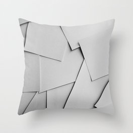 Sheets of Paper Throw Pillow