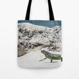 Key West Iguana Tote Bag