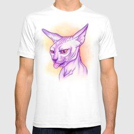Sphynx cat #02 T-shirt