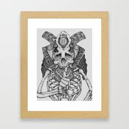 Everything with Skulls - 07 Framed Art Print