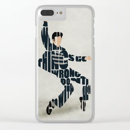 Elvis Presley Clear iPhone Case