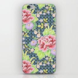 Kimono Bouquet Brocade iPhone Skin