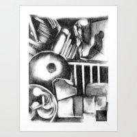 WRETCHED INEBRIATES Art Print