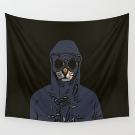 Schmitty the Kitty Hooligan Wall Tapestry