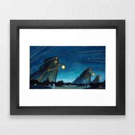 The Night Patrol Framed Art Print