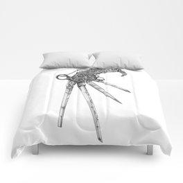 Scissorhand (BW-L) Comforters
