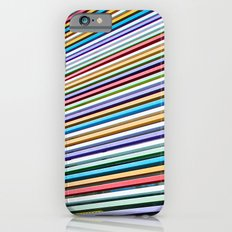 Colored Lines On The Wall iPhone 6 Slim Case