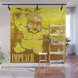 IMPEACH SWIM Wall Mural