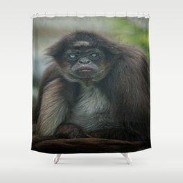 Mr Grumpy Shower Curtain