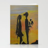 childish gambino Stationery Cards featuring Childish Love by Love Art Wonders by God Nickyart