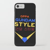gundam iPhone & iPod Cases featuring Gundam Style by Joynisha Sumpter