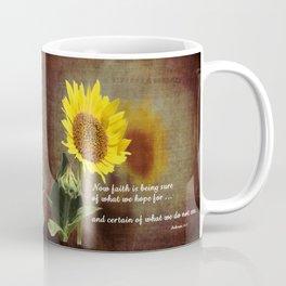 Faithful Sunflower Coffee Mug