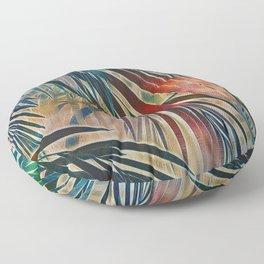 Tropical Sunset Floor Pillow