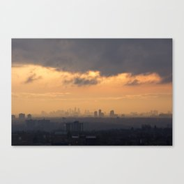 City Sky. Canvas Print