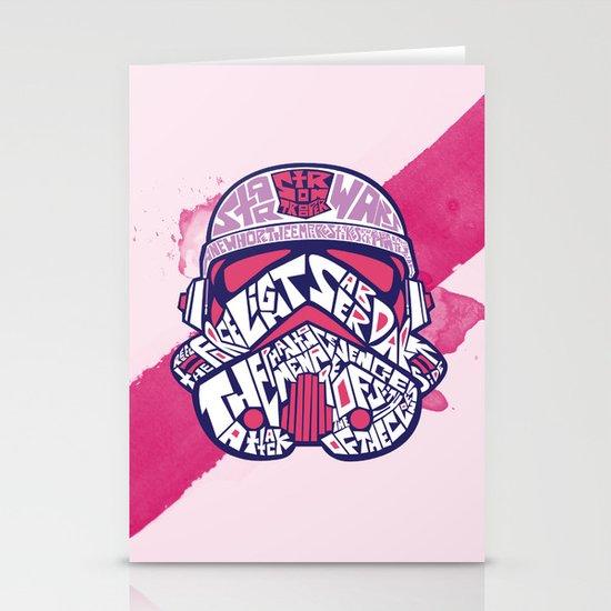 En rose Stationery Cards