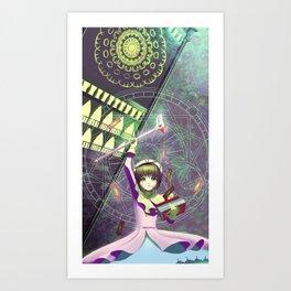 Cardcaptor Sakura fanart print Art Print