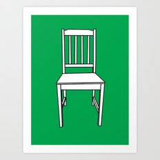Chair, 2013. Art Print