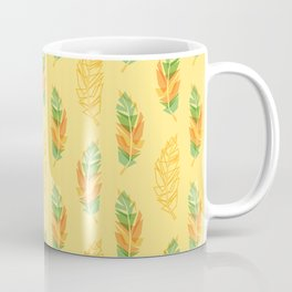 Feather pattern Coffee Mug