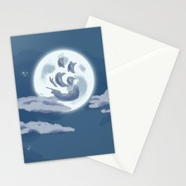 Ship in the Sky Stationery Cards