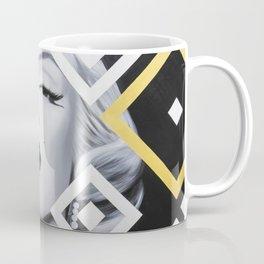Marilyn with Abstract Art Coffee Mug