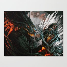 Tainted Affection Canvas Print