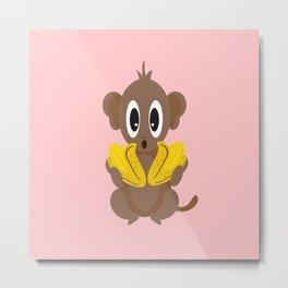 Lil Monkey! Metal Print