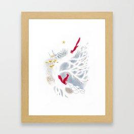 Guirlande Framed Art Print