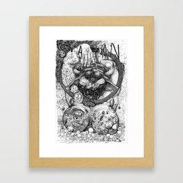 The Prince of Lies Framed Art Print