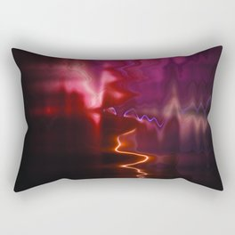 Firework Waves Rectangular Pillow