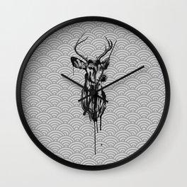 Deer I Wall Clock