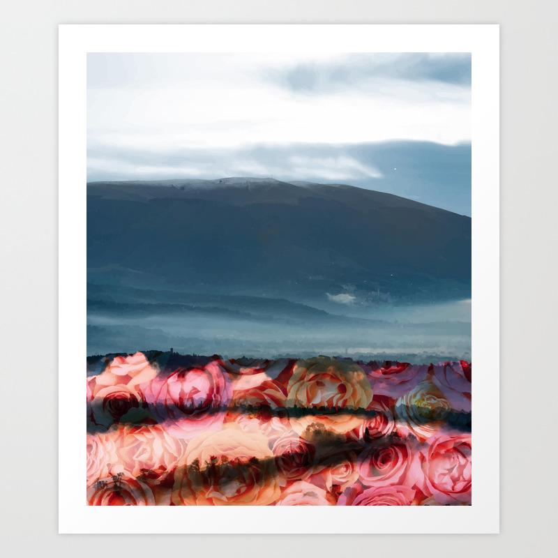 A Little Bit Of Heaven Art Print by 83oranges PRN3493780