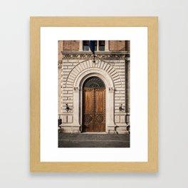 Poste Framed Art Print