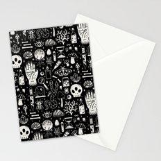 Curiosities: Bone Black Stationery Cards